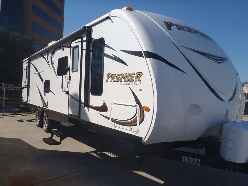 Travel Trailer-1 Slide-Bullet Premiere 32BH