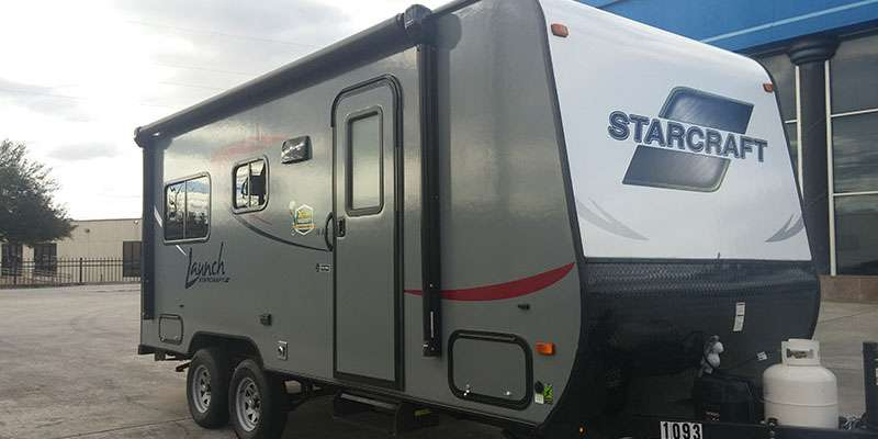 Travel Trailer - Rear Slide Out - Starcraft 19BHS