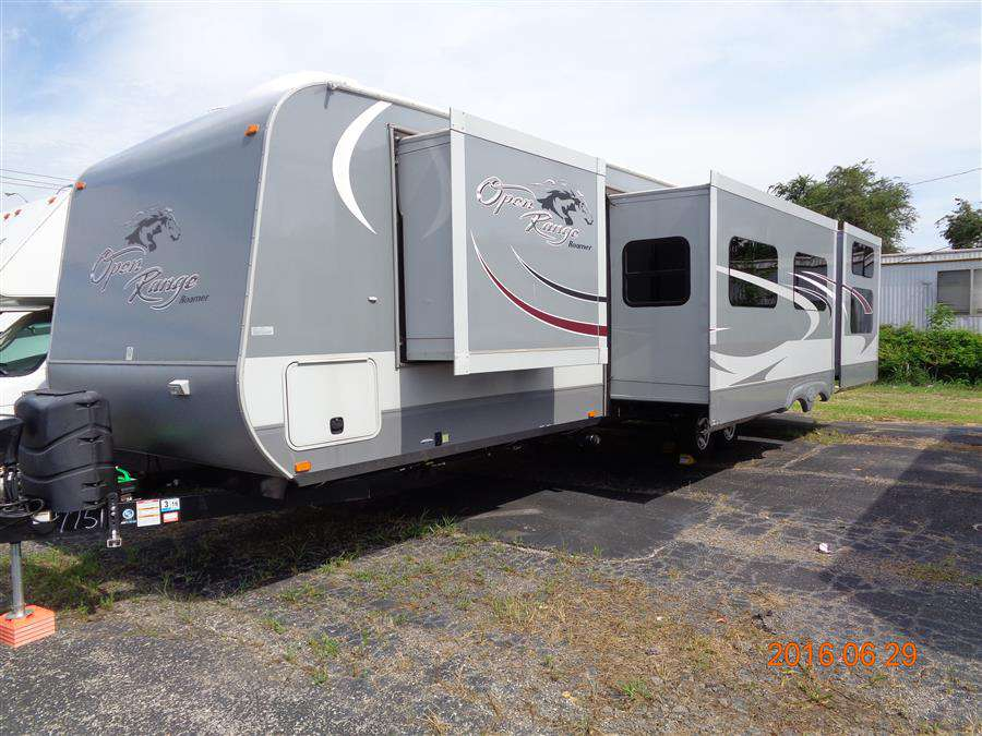 Travel Trailer - 4 slides - Bunks - Open Range 310 BHS