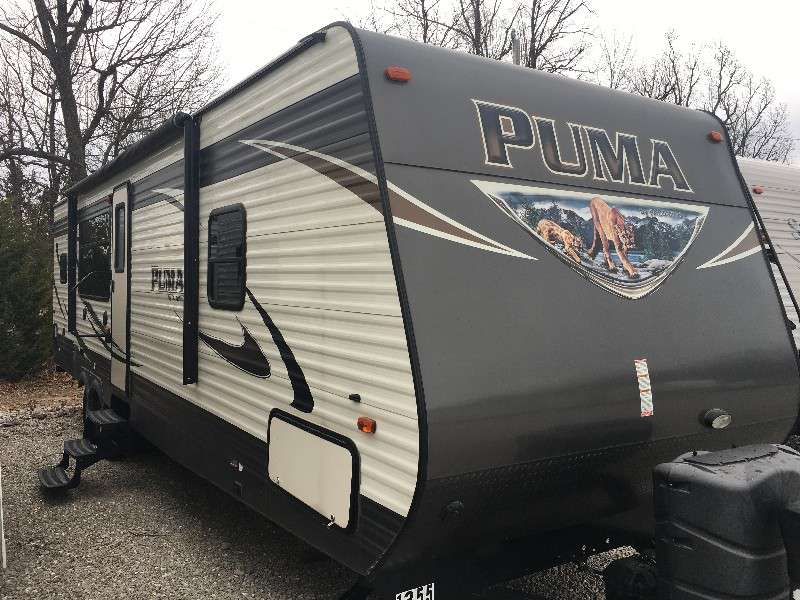 Travel Trailer - Puma 1-S/O, 30RKSS, Sleeps 8