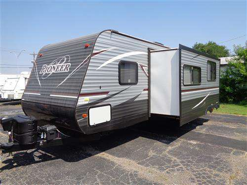 Travel Trailer - 1 Slide - Pioneer QB300