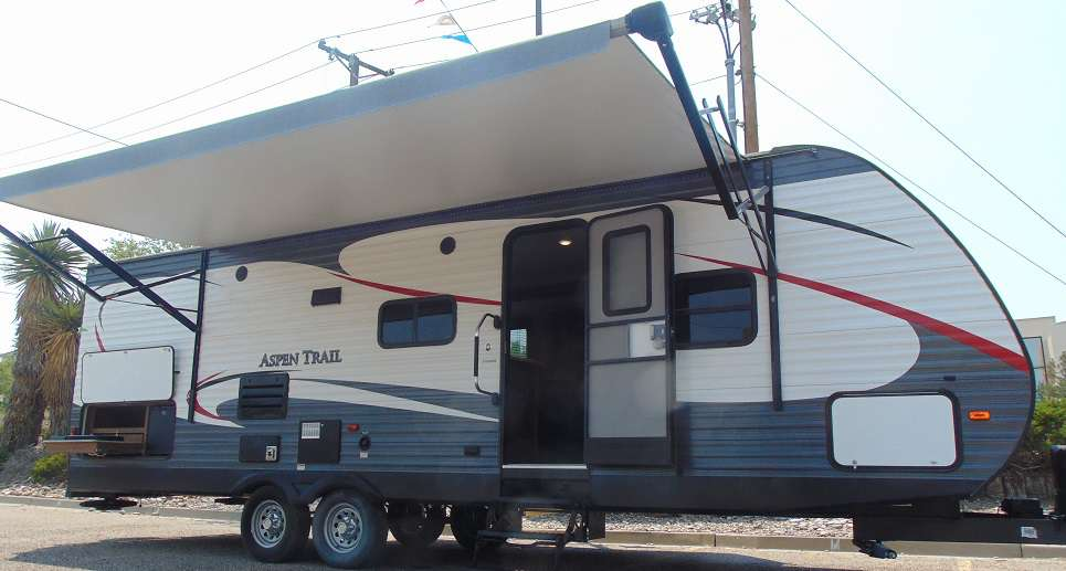 Travel Trailer - 1 Slide Out Aspen Trail M-2750