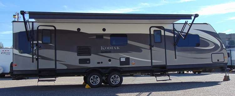 TRAVEL TRAILER 2 Slide Out KODIAK BY DUTCHMEN