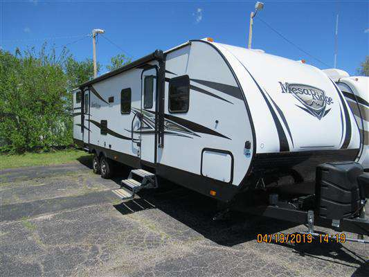 Travel Trailer - 2 Slides - Mesa Ridge 3110 BH