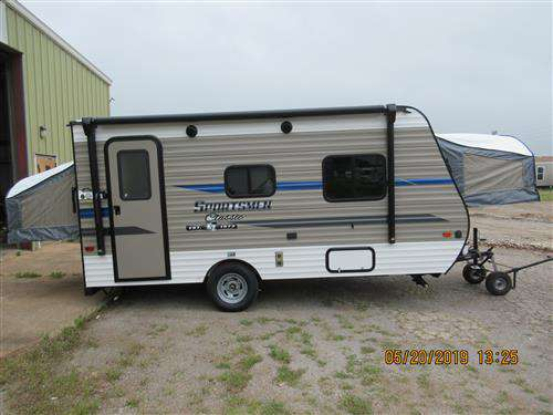 Travel Trailer - KZ Sportsmen 160 RBT - No Slide- Hybrid