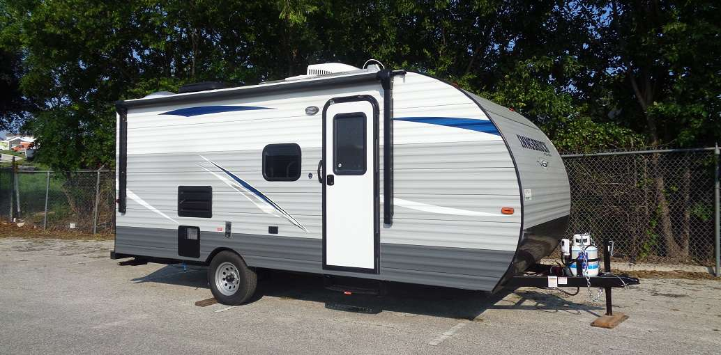 TRAVEL TRAILER - NON SLIDE INNSBRUCK 199DD