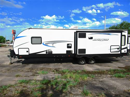 Travel Trailer - 2 Slides - Cherokee Alpha 26RL-L