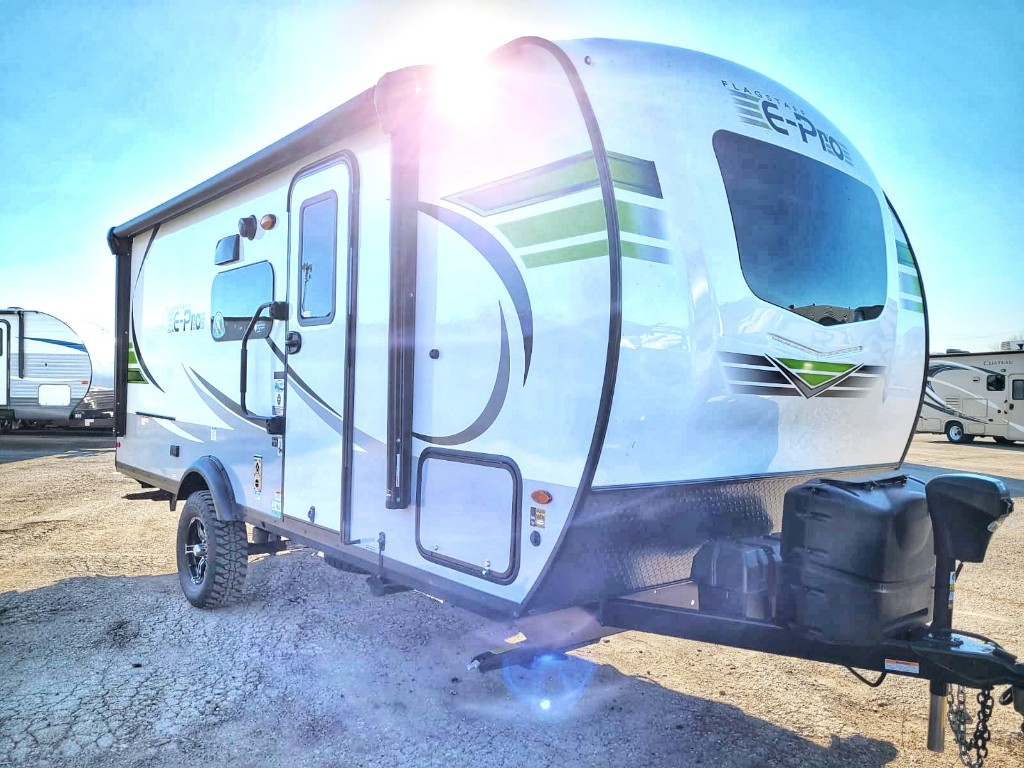 Travel Trailer - 1 Slide Out Flagstaff E-Pro 20BHS