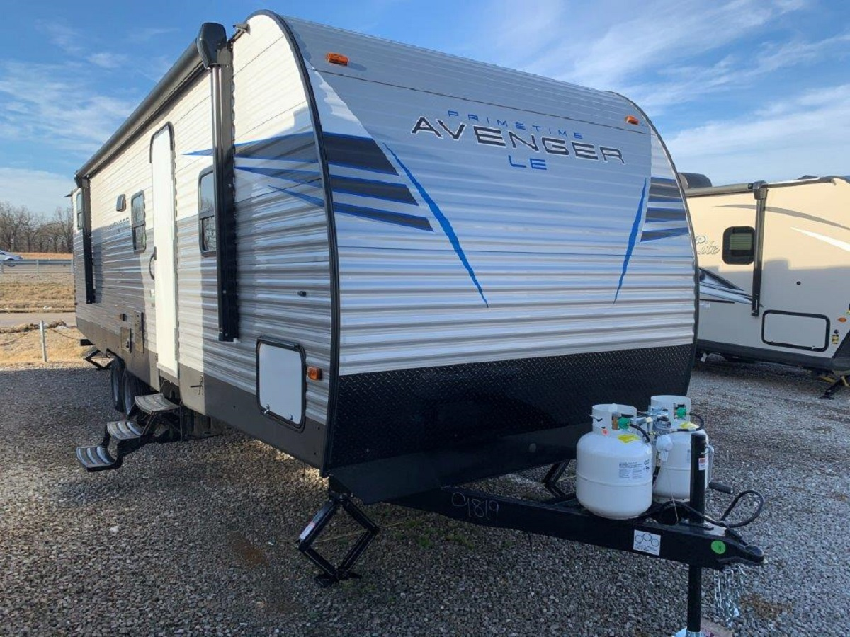 1-Slide, Avenger 28QBSLE, w/bunks, Sleeps 8
